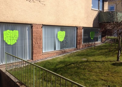 Åsalid assistans fönsterdekor